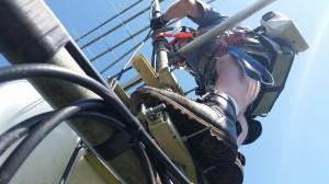On the mast at N3OC